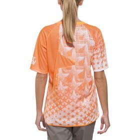 Zimtstern Bezzy Koszulka kolarska, krótki rękaw Kobiety pomarańczowy